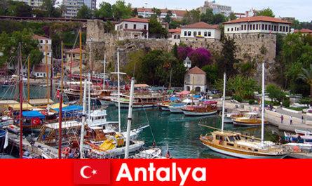Turkey Antalya Resort di pantai Mediterranean