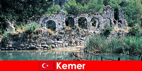 Kemer mewakili bahagian Eropah Turki