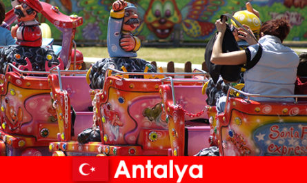 Percutian keluarga yang bagus di Antalya di Turki