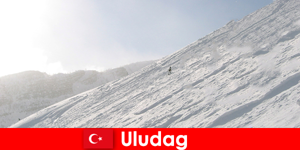Musim sejuk cuti di Turki Uludag