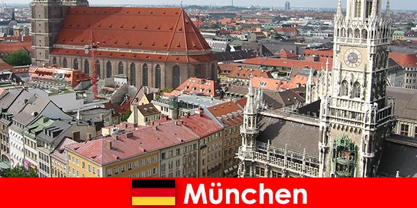 Sebagai pelancong yang menggunakan berjoging atau pilihan kecergasan di bandar Munich