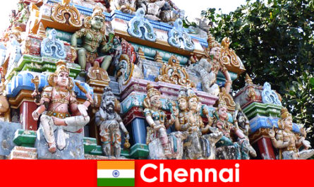 Tarikan, lawatan dan aktiviti di Chennai bagi orang asing tidak ada kebosanan