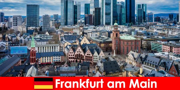 Percutian mewah di bandar Frankfurt am Main untuk para pecinta