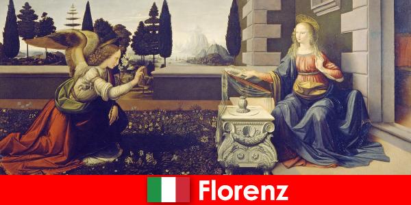 Pelancong tahu kepentingan budaya Florence untuk seni visual