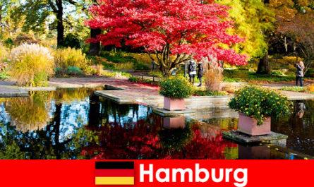 Hamburg sebuah bandar pelabuhan dengan taman besar untuk percutian yang merehatkan