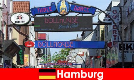 Hamburg Reeperbahn-kehidupan malam pelacuran dan perkhidmatan pengiring untuk pelancongan seks