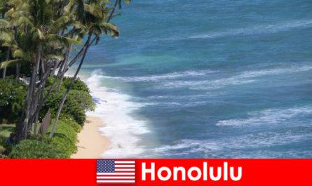 Honolulu pemandangan teratas dengan pengalaman keluarga