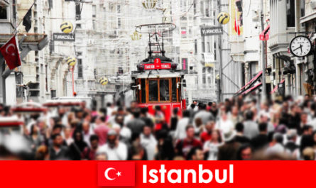 Maklumat bersiar-siar dan Tip pelancongan di Istanbul