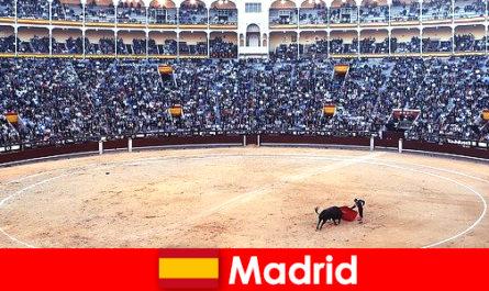 Perayaan tradisional di Madrid mengagumkan setiap orang yang tidak dikenali