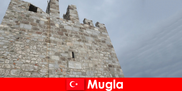 Pengembaraan perjalanan ke bandar-bandar hancur Mugla di Turki