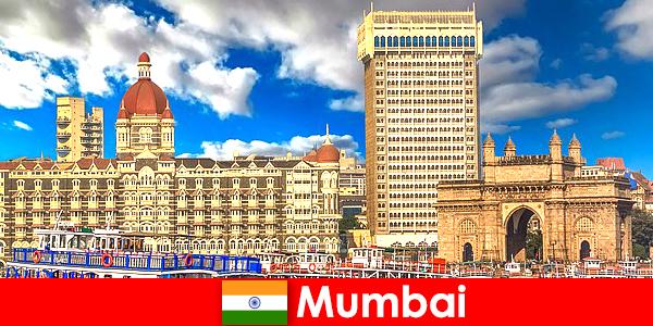 Mumbai sebuah metropolis penting di India untuk ekonomi dan pelancongan