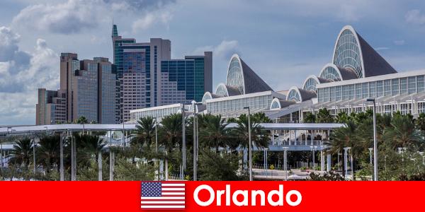 Orlando tempat menarik dan aktiviti dengan rakan