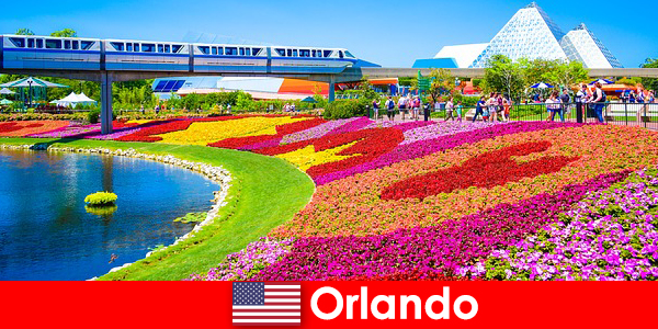 Orlando modal pelancong Amerika Syarikat dengan pelbagai Taman tema
