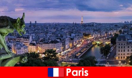 Paris bandar artis dengan fasangan istimewa dengan bangunan