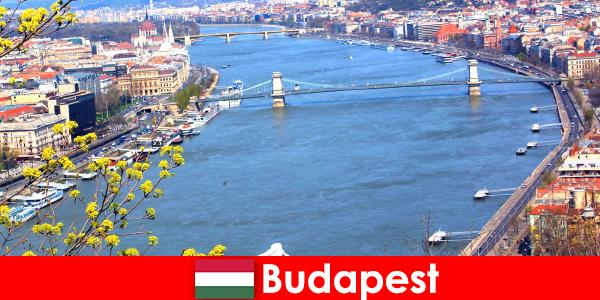 Budapest di Hungary tip perjalanan yang popular untuk mandi dan cuti kesihatan