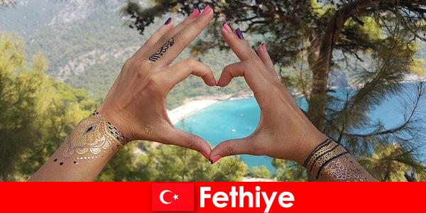 Percutian pantai di Turki Fethiye untuk muda dan tua sentiasa mimpi