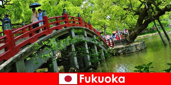 Fukuoka adalah suasana santai dan antarabangsa dengan kualiti hidup yang tinggi untuk pendatang