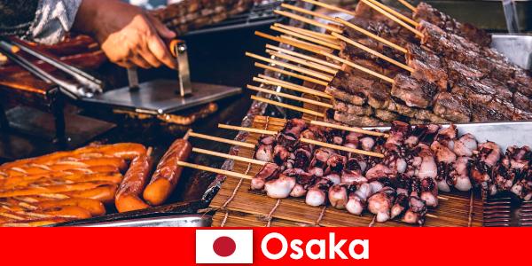 Osaka adalah masakan Jepun dan satu titik hubungan untuk sesiapa sahaja yang mencari pengembaraan percutian