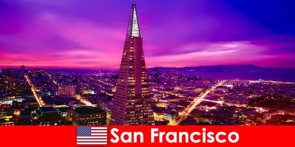 San Francisco sebuah pusat budaya dan ekonomi yang meriah untuk pendatang