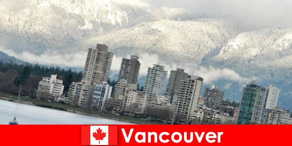 Bandar vancouver yang indah antara lautan dan gunung membuka banyak peluang untuk pelancong sukan