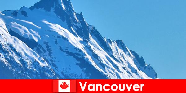 City of Vancouver di Kanada adalah matlamat utama bagi pelancongan mendaki