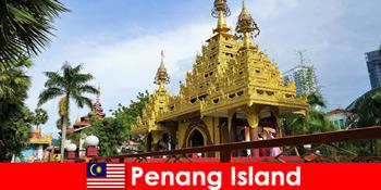 Pengalaman terbaik untuk pelancong asing pengalaman di kompleks kuil Pulau Pinang