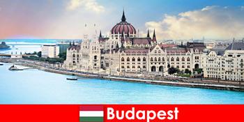 Bandar indah Budapest dengan banyak tempat tarikan untuk pelancong