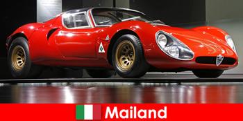 Milan Itali sentiasa menjadi destinasi popular untuk pencinta kereta dari seluruh dunia