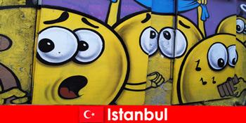 Kelab adegan Turki Istanbul untuk hipster dan artis dari seluruh dunia sebagai lawatan hujung minggu