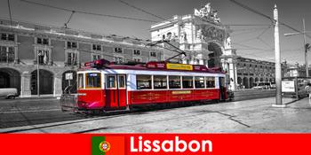 Lisbon di Portugal pelancong tahu anda sebagai bandar putih di Lautan Atlantik