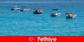 Turki Blue Trip dan White Beaches tidak sabar menanti pelancong Fethiye untuk beriadah