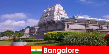 Kompleks kuil misteri dan indah Bangalore