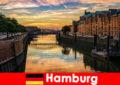 Keindahan seni bina dan hiburan untuk percutian pendek di Hamburg Jerman