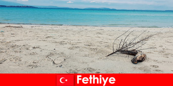 Lawatan rekreasi untuk pelancong tertekan di Riviera Fethiye Turki