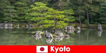 Taman Jepun Jemput Orang Yang Tidak Dikenali untuk Berjalan Santai di Kyoto