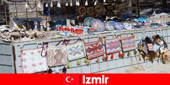 Pengalaman bersiar-siar untuk orang asing di daerah bazar Izmir Turki