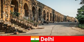 Lawatan berpandu peribadi ke bandar Delhi India untuk pelancong budaya yang berminat