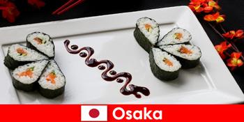Osaka Jepun untuk orang asing lawatan masakan bandar