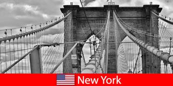 Lawatan spontan ke luar negara ke metropolis dunia New York Amerika Syarikat