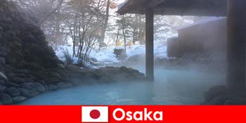 Osaka Japan menawarkan tetamu spa yang mandi di mata air panas