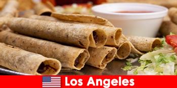 Pelawat asing boleh mengharapkan acara masakan serba boleh di restoran terbaik di Los Angeles Amerika Syarikat