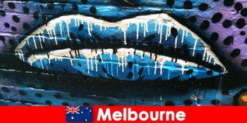 Pelancong kagum dengan seni jalanan terkenal di dunia di Melbourne Australia