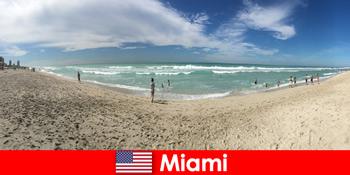 Menarik, pinggul dan unik rasa pelancong muda di Miami Amerika Syarikat yang hangat
