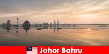 Tempah tempahan hotel untuk pelancong di Johor Bahru Malaysia sentiasa di pusat bandar