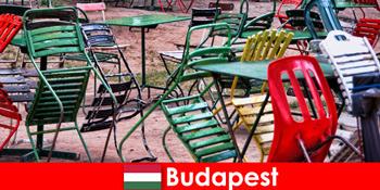 Menarik bistros, bar dan restoran menanti pelancong di Budapest Hungary yang indah